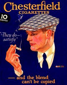 CHESTERFIELD CIGARETTES 1919