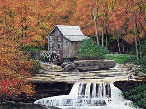 The-Glade Creek-Grist-Mill