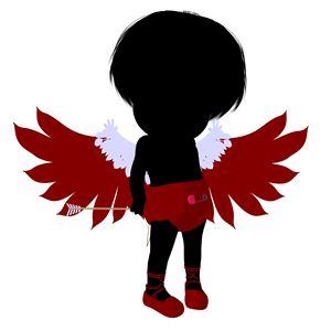 Little Cupid Girl - Kathy Gold Art