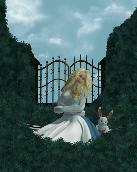 Daydreaming - Kathy Gold Art