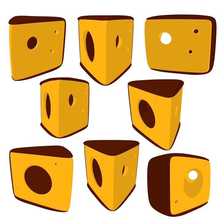 Cheese - Kathy Gold Art