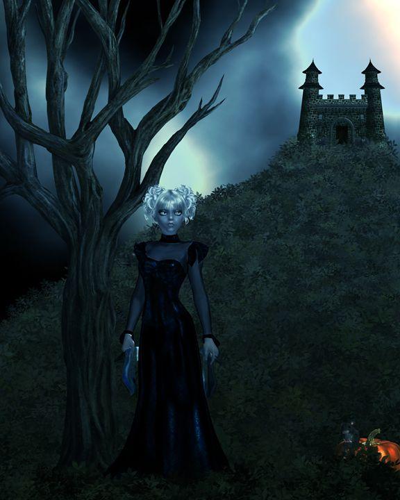 Dark Cinderella - Kathy Gold Art