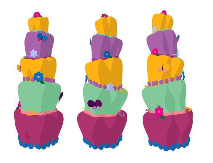 Cake - Kathy Gold Art
