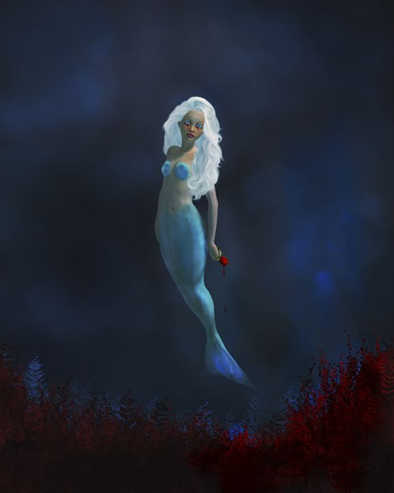 Blood Flowers - Kathy Gold Art