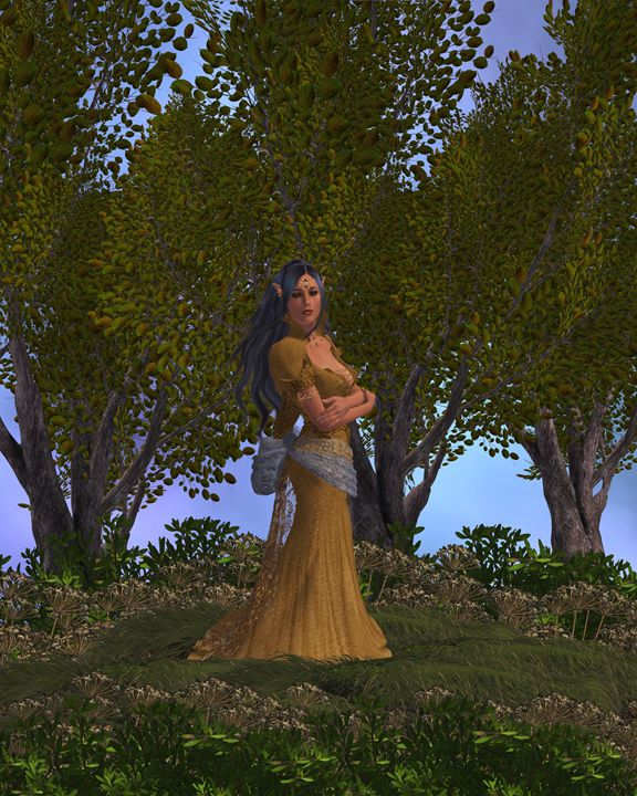 Elven Queen - Kathy Gold Art