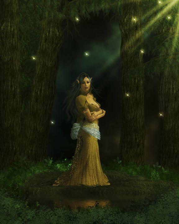 The Queen - Kathy Gold Art