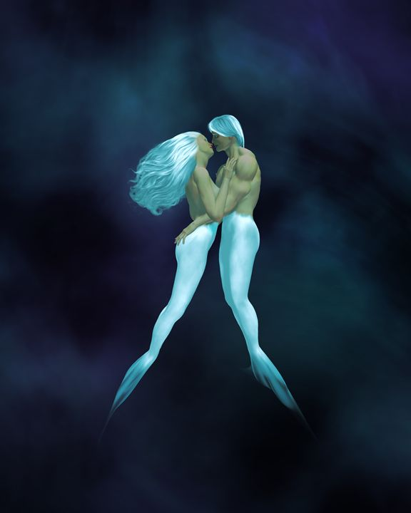 Atlantis - Kathy Gold Art