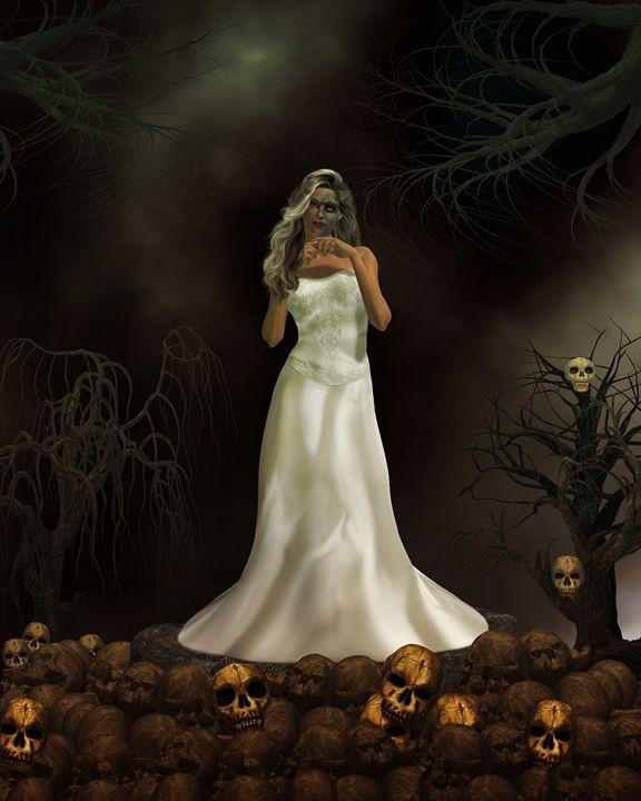 Demon Bride - Kathy Gold Art