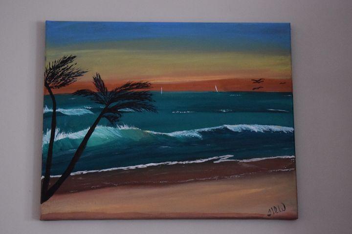 Sunset in Paradise - TDW Art