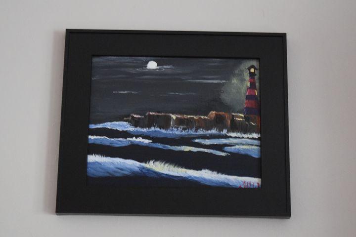 Beacon in the Night - TDW Art