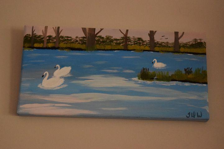 Saturday Morning Swim - TDW Art