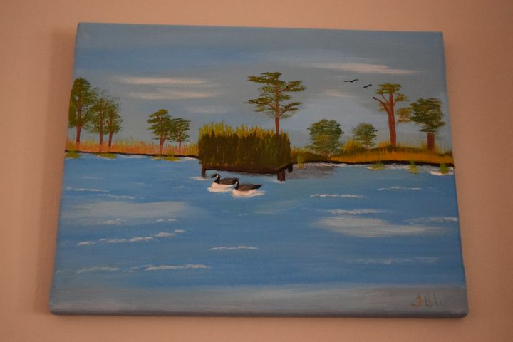 Lazy Day on the River - TDW Art