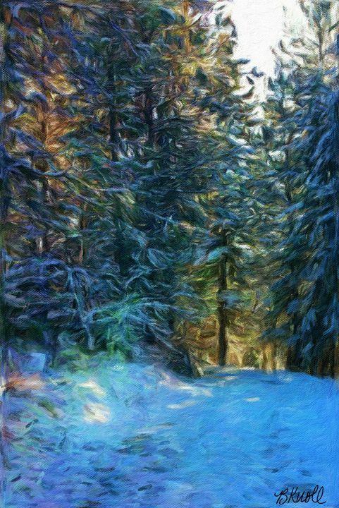 Winterful - MyArt: Brenda Knoll