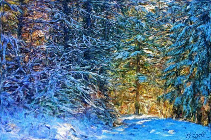 Winter Wonderful Two - MyArt: Brenda Knoll