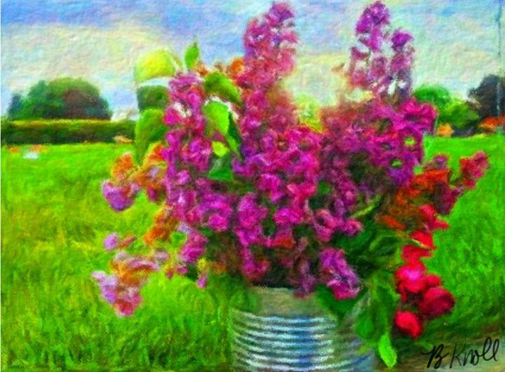 Lilacs - MyArt: Brenda Knoll