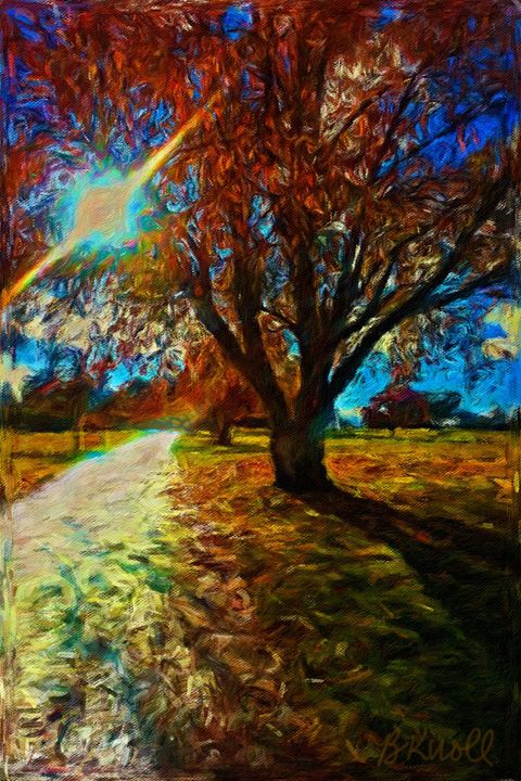 A Walk in the Park - MyArt: Brenda Knoll