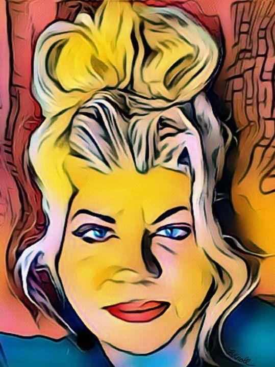 it's me a superhero - MyArt: Brenda Knoll