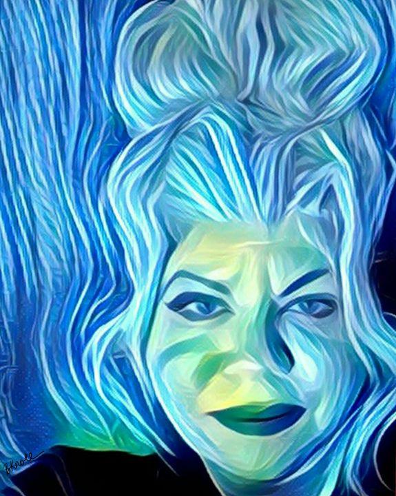it's me blue - MyArt: Brenda Knoll