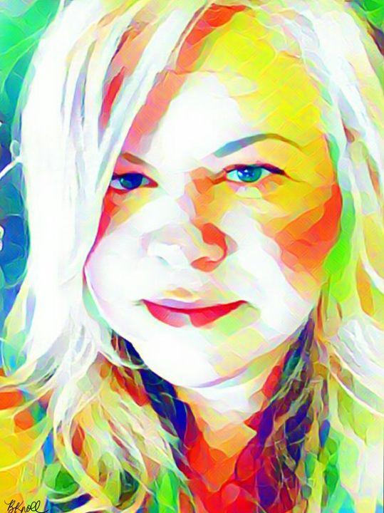 it's me. ..Brenda - MyArt: Brenda Knoll