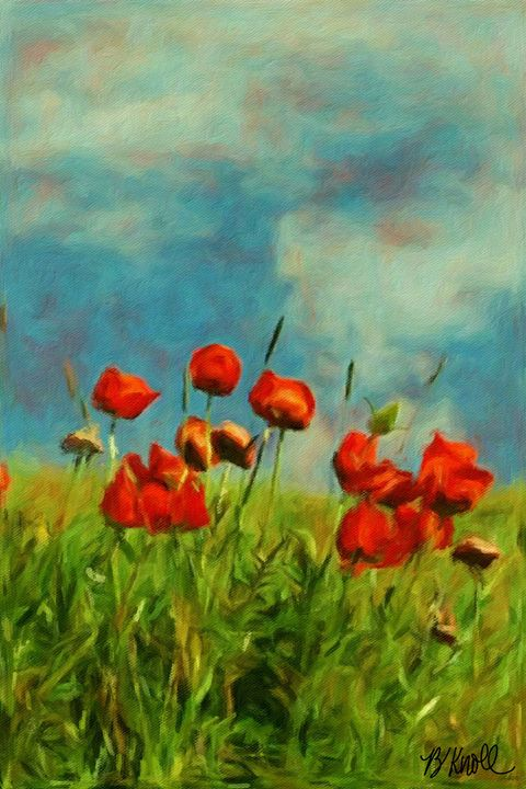 My Favorite Bioca Poppies - MyArt: Brenda Knoll