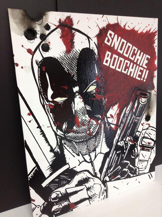 deadpool snoochie boochie - P & J designs