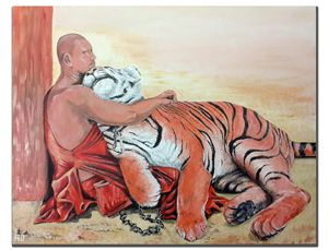 The monk and the tiger