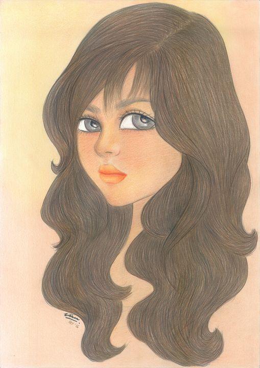 "Woman_face_#11 - Veronika ""Vince"" Santosa"