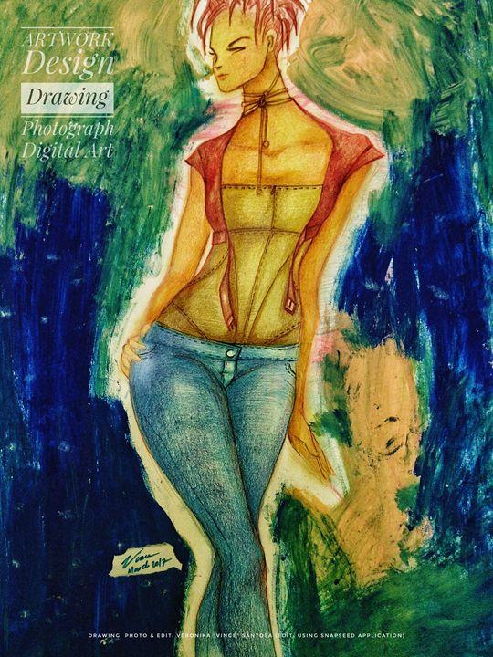 "Style & Artwork - Veronika ""Vince"" Santosa"