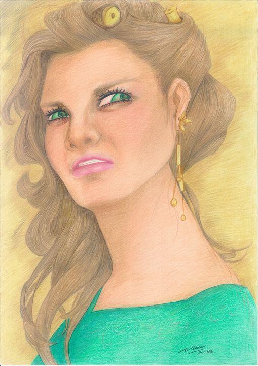 "Woman_face_#2 - Veronika ""Vince"" Santosa"