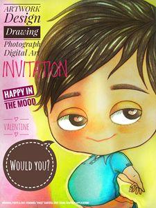 """Valentine_invitation - Veronika """"Vince"""" Santosa"""