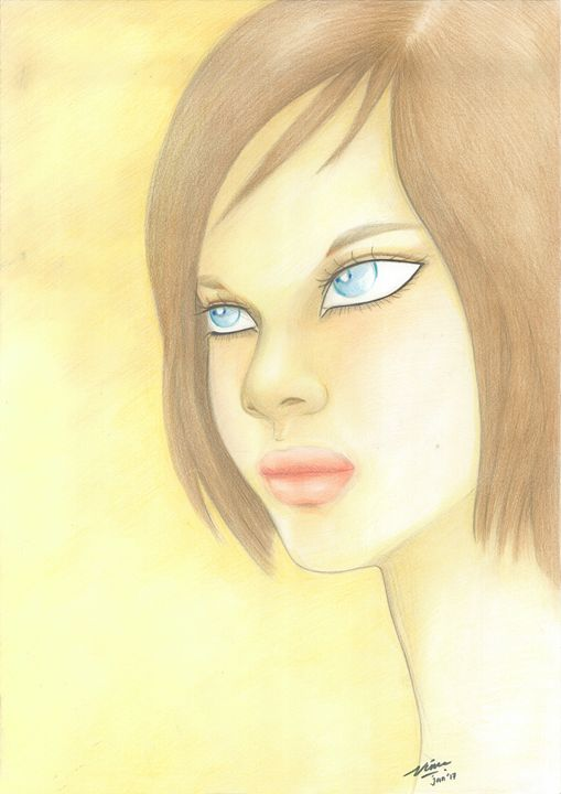"Woman_face_#5 - Veronika ""Vince"" Santosa"