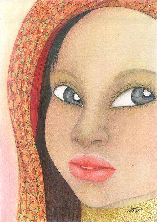 "Woman_face_#10 - Veronika ""Vince"" Santosa"