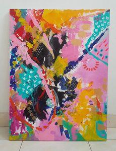 Sakura on Canvas SOLD