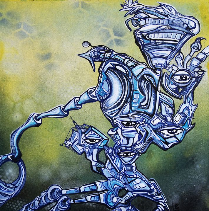 Rising Mutations - Larry Calabrese Art