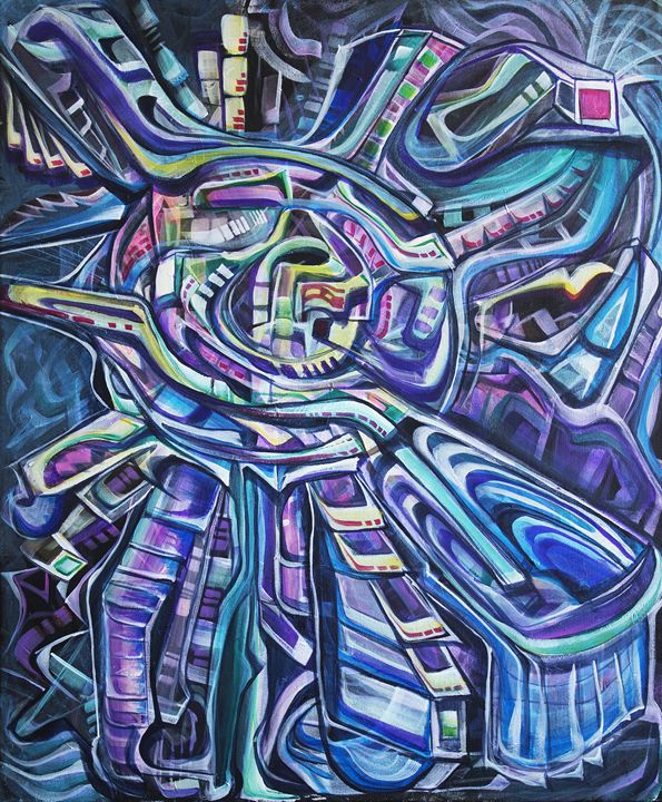 Perplexus - Larry Calabrese Art