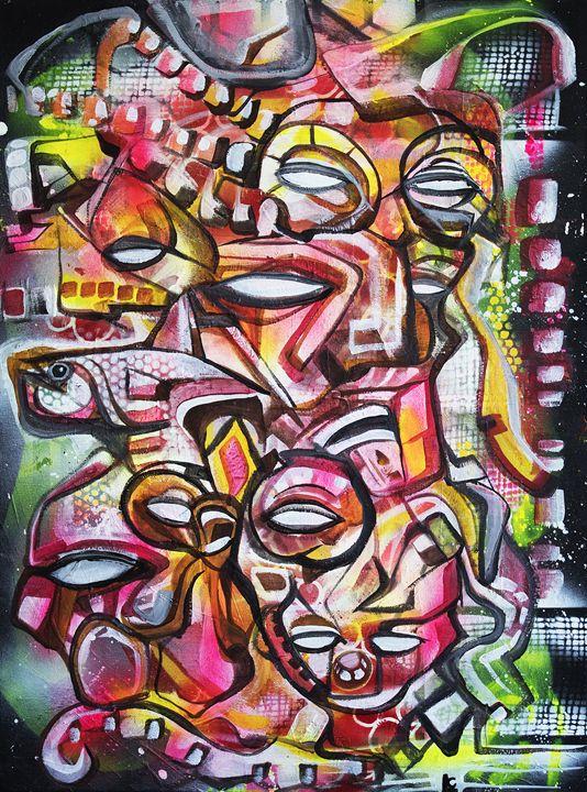 Crimson Navigators - Larry Calabrese Art