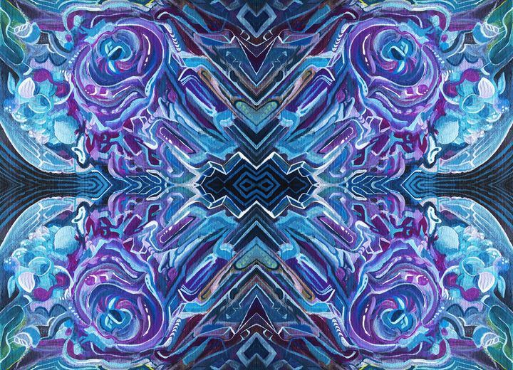 Abstract Digital Edit - Larry Calabrese Art