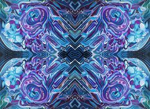 Abstract Digital Edit