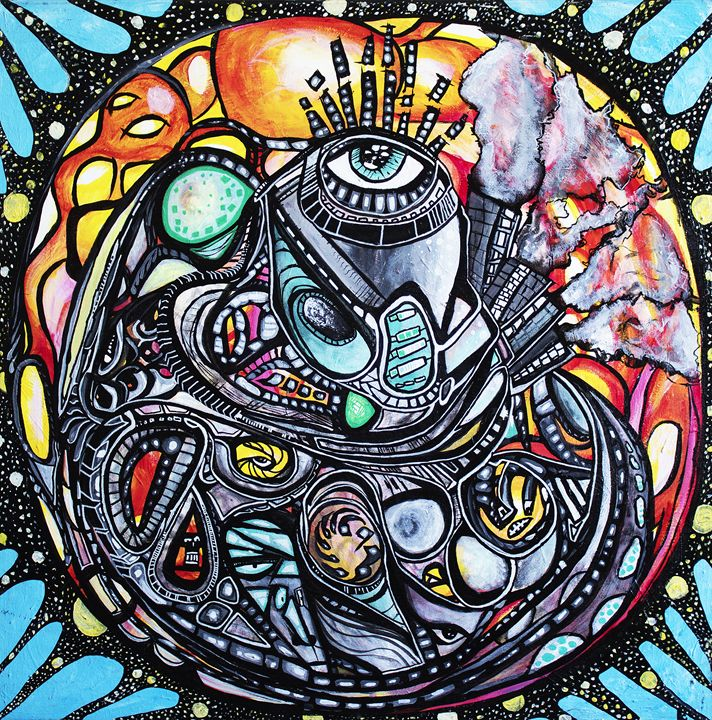 Cardio Mandala - Larry Calabrese Art