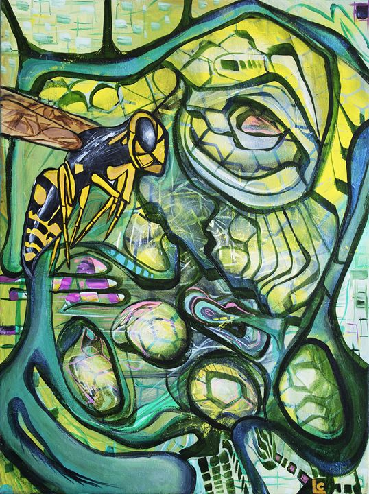 The Hive - Larry Calabrese Art