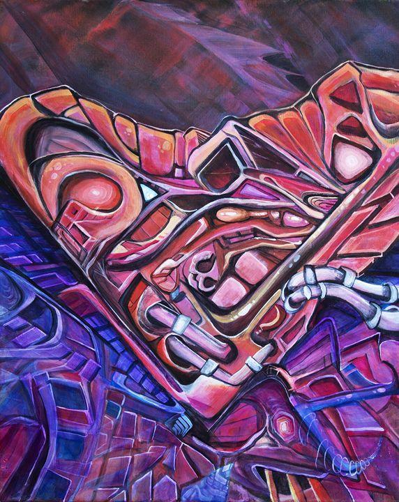 Cardio Robotica - Larry Calabrese Art