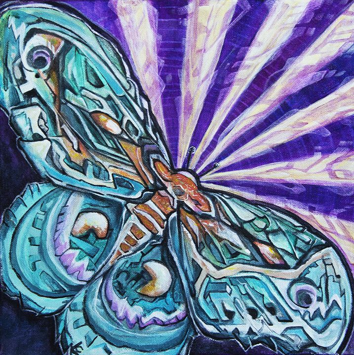 Cecropia Moth - Larry Calabrese Art