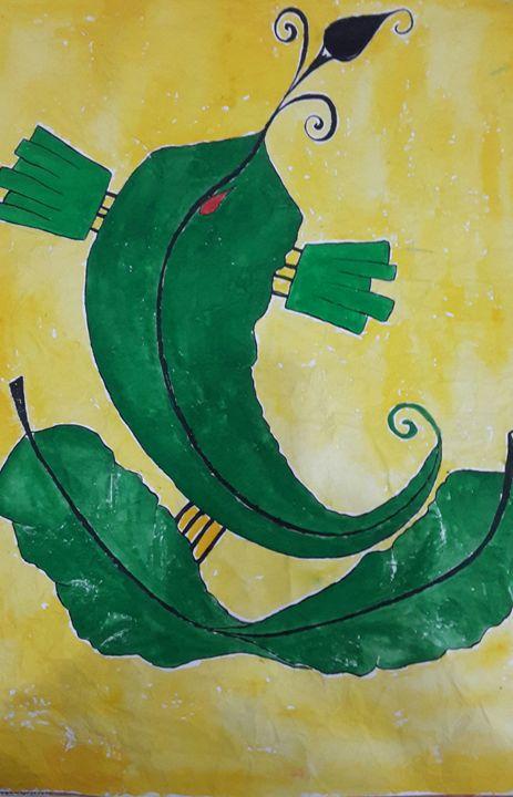 leaf ganapati - kavitha unachigi