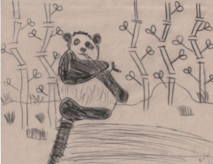 Hungry Baby Panda - Della's World-The Nautilus Diaries