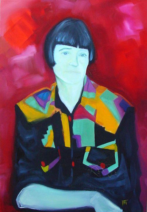 Portrait of a Mother - Vira Grin
