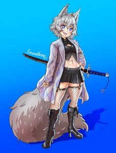 Demon Slayer Foxgirl