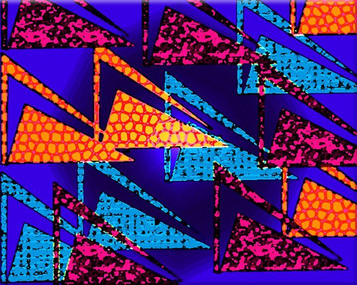 Triangular Blue - Jodie Herpel