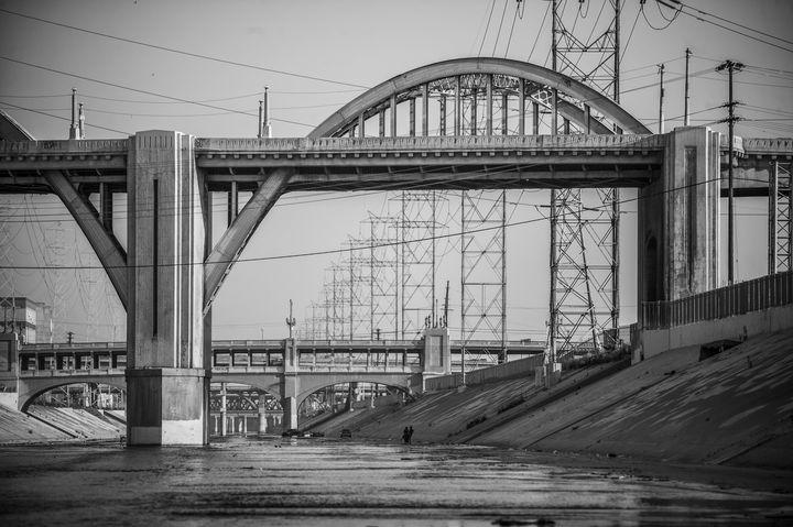 6th Street Bridge, Los Angeles, CA - Saxony