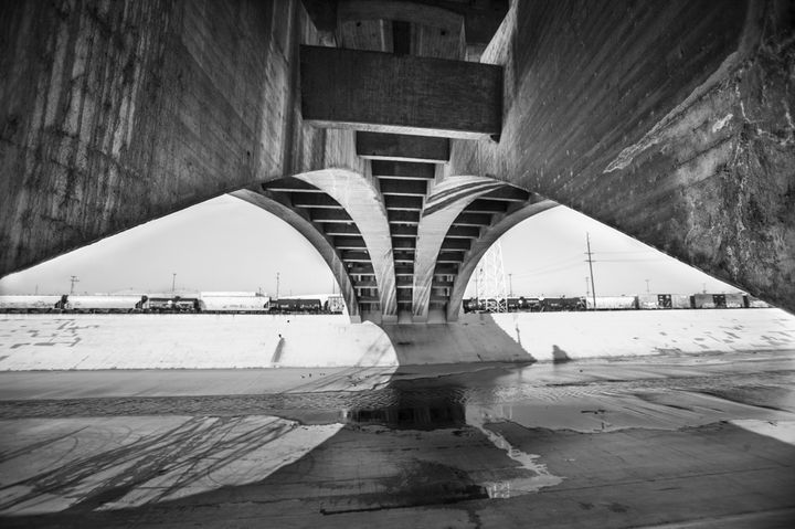 Fourth Street Bridge, Los Angeles - Saxony