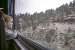 Girl on Train II